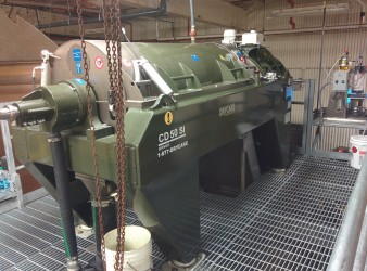 centrifuge with chain